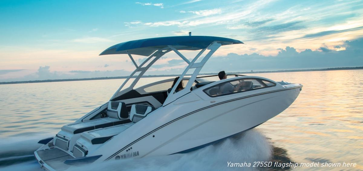 Yamaha Unveils Premium 27-Foot Boat Line at 2019 Miami International Boat Show