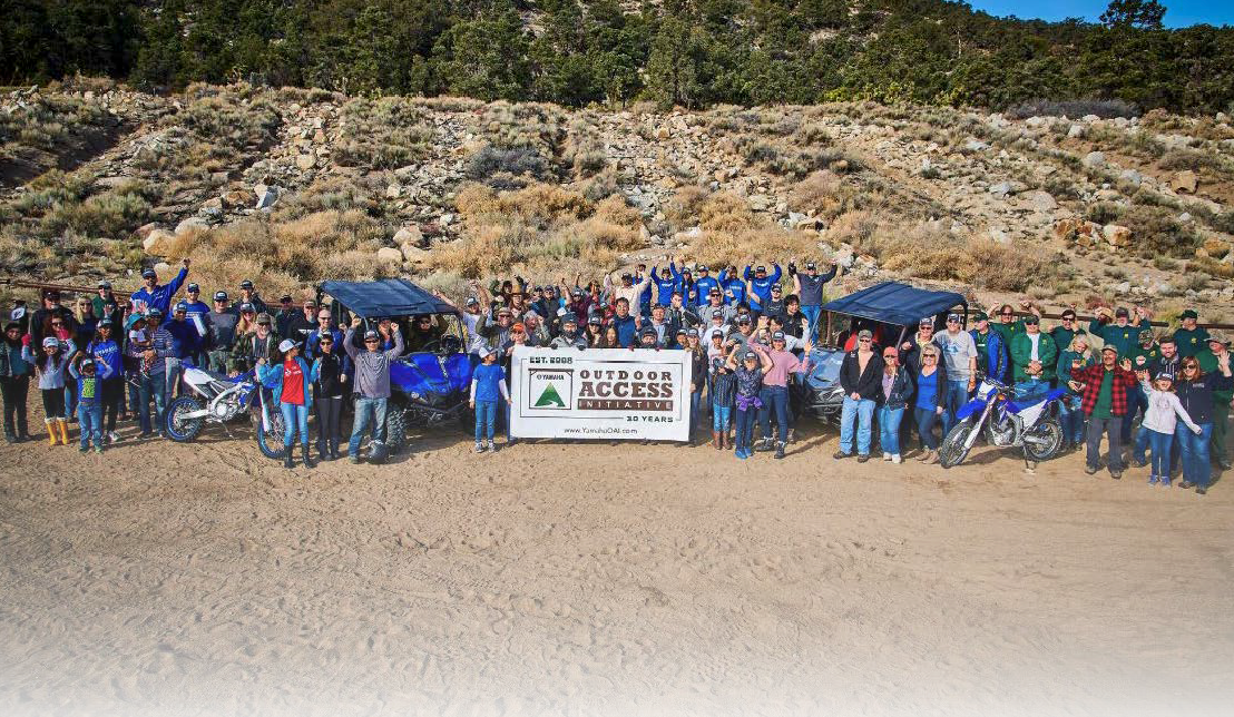 Yamaha Protects and Improves Public Lands for Outdoor Recreation