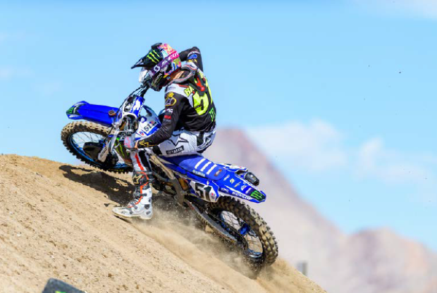 Monster Energy<sup>®</sup>/Yamaha Factory Racing's Justin Barcia Battles to a Top-Five Finish at the 2018 Monster Energy<sup>®</sup> Cup