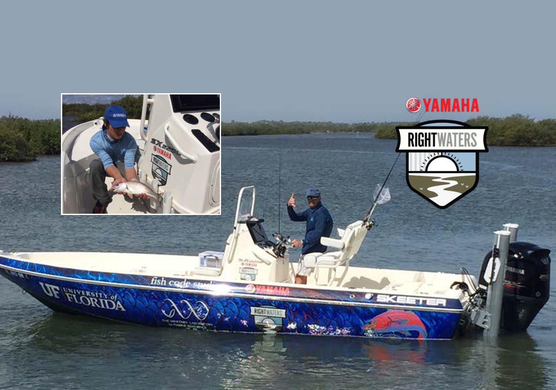 Yamaha Rightwaters™ Powers Redfish Study at University of Florida