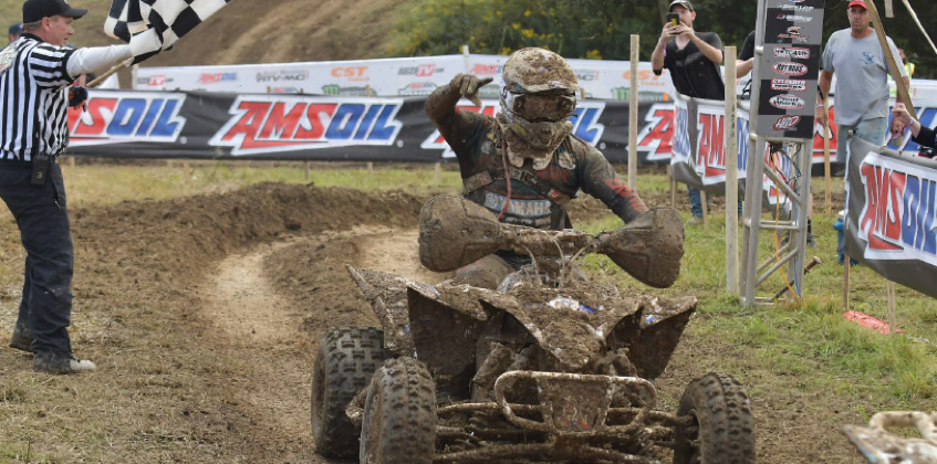 YFZ450R<sup>®</sup> Riders Claim 3 Victories at Mason-Dixon GNCC<sup>®</sup> Event