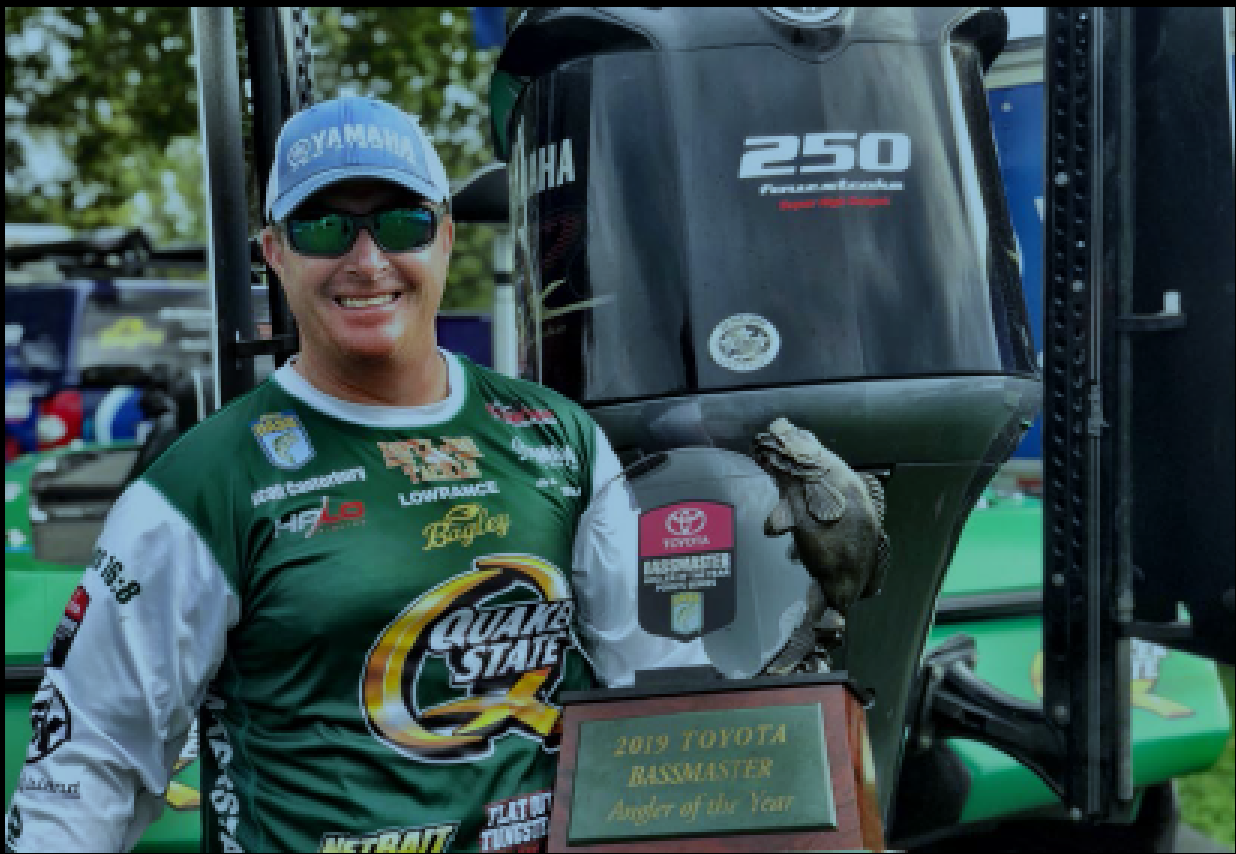 Yamaha/Skeeter Pro Scott Canterbury Claims 2019 Toyota<sup>®</sup> Bassmaster<sup>®</sup> Angler of the Year Title