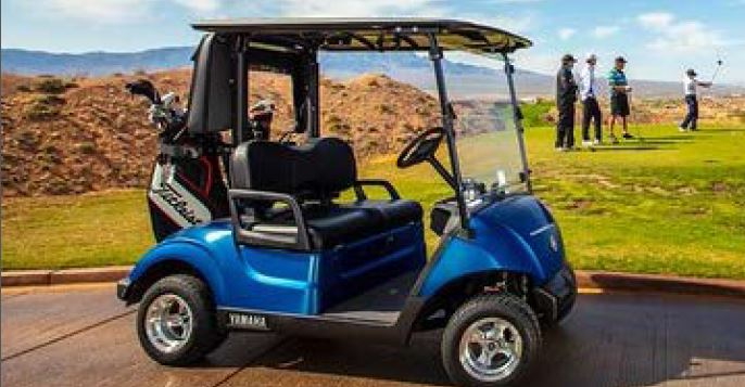 Yamaha Unveils Never-Before-Seen Colors on a Golf Car