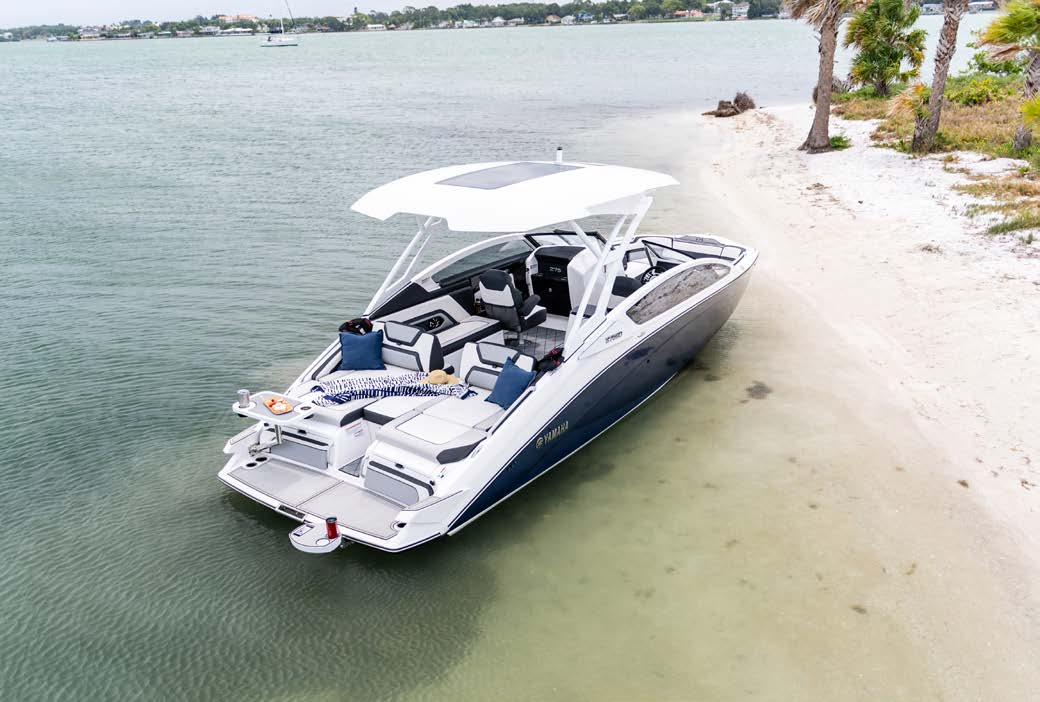 Yamaha 275 Series Boat Wins Prestigious International Design Award