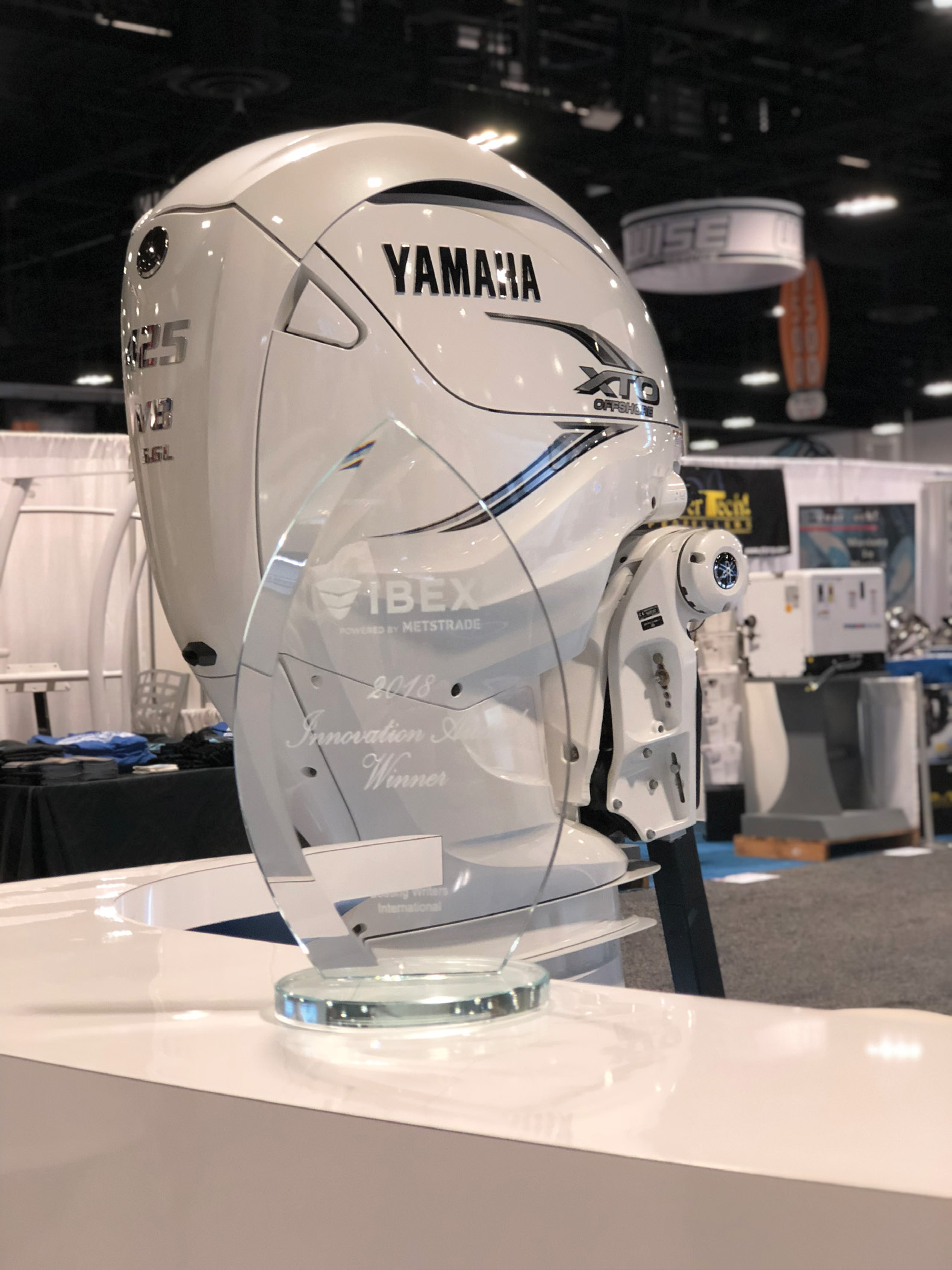 Yamaha Claims Innovation Award For New V8 XTO Offshore®