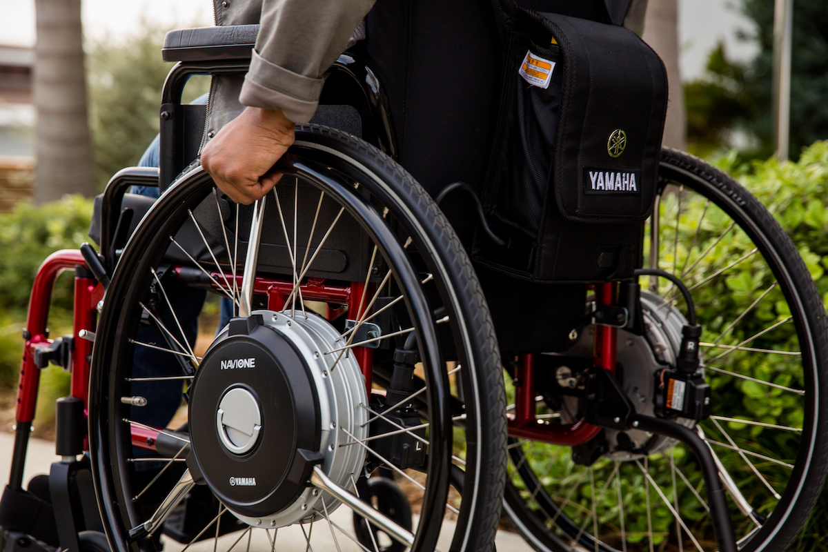 Yamaha Navione Wheelchair Power Assist System